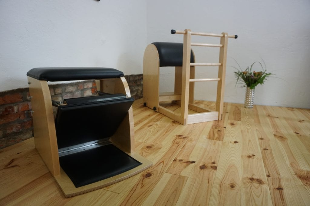 Chair und High Barrel - klassisches Pilates Studio München